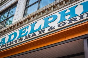 Adelphia Sign